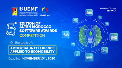 ALTEN MOROCCO SOFTWARE AWARDS – 5ème édition –